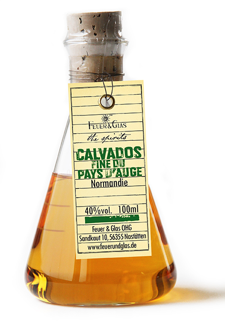 Calvados fine du Pays d'Auge, 100 ml, 40%  VOL