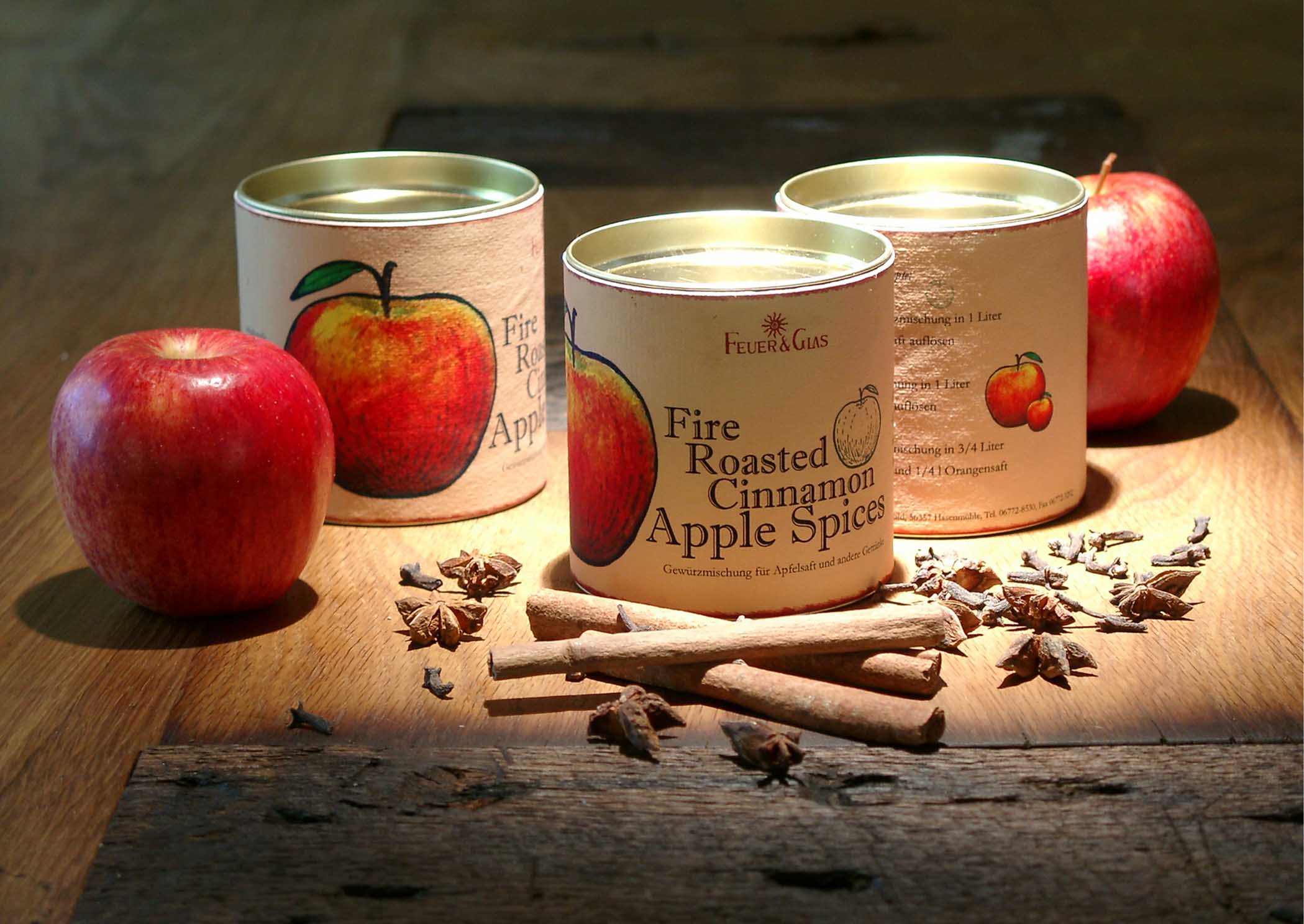 Das neue Bio- Fire Roasted Cinnamon Apple Spice Großpackung