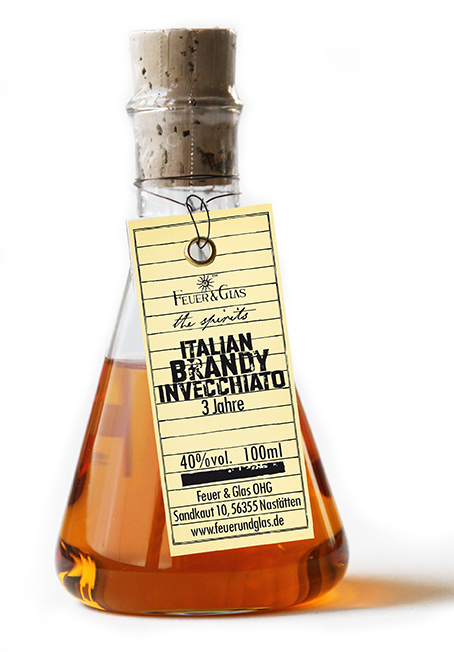 Italian  Brandy Invecchiato, 100 ml, 40%  VOL
