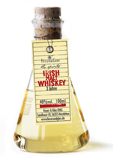 Irish Malt Whisky, 100 ml, 40%  VOL