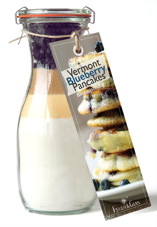 Vermont Blueberry Pancakes Mini (250 ml)