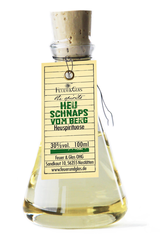 Heu Schnaps vom Berg, 100 ml, 30%  VOL
