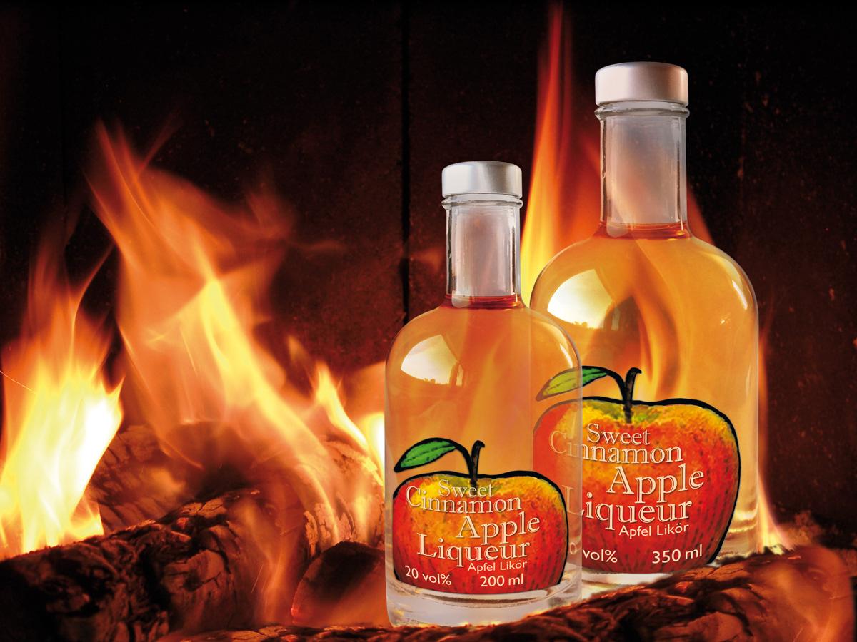 Sweet Cinnamon Apple Spice Liqueur 200ml