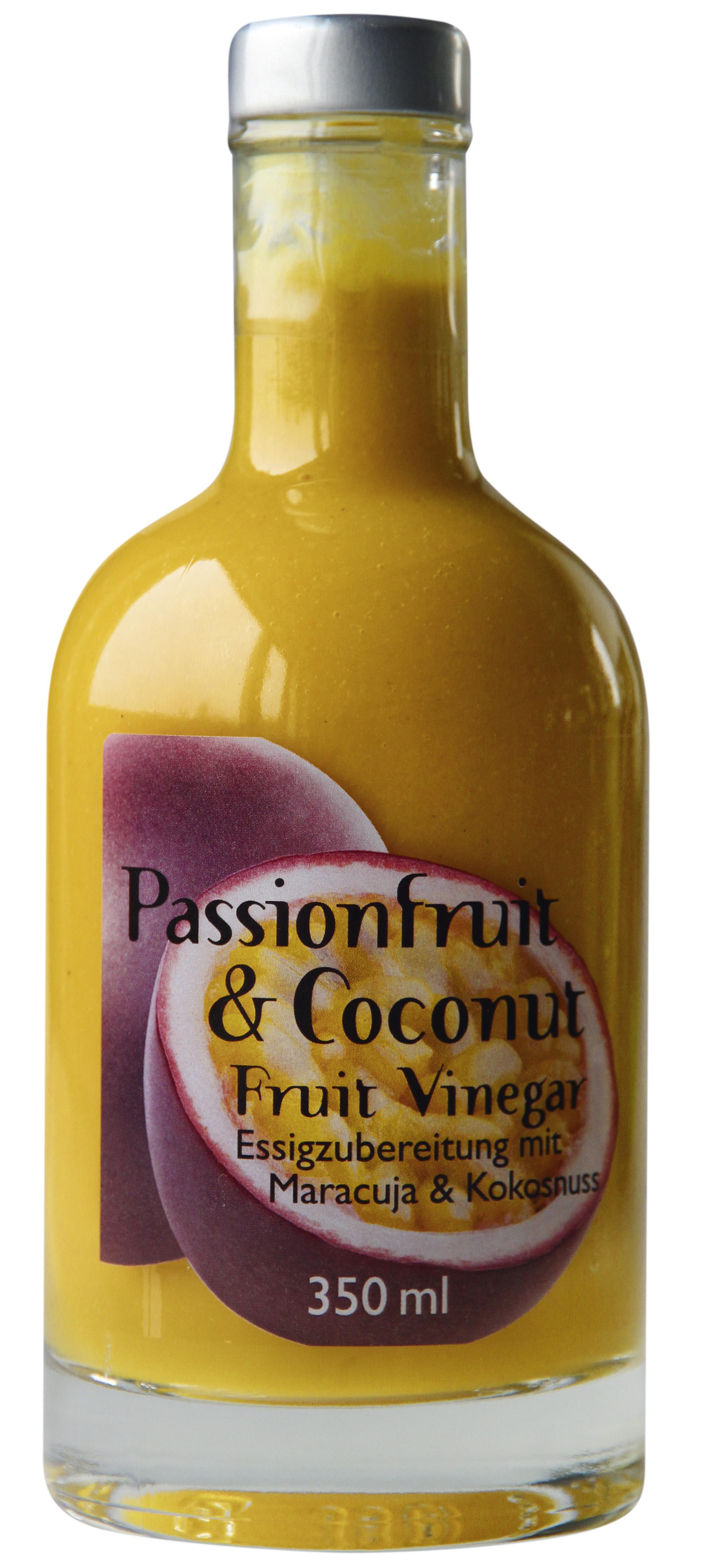 Passionfruit & Coconut Fruit Vinegar