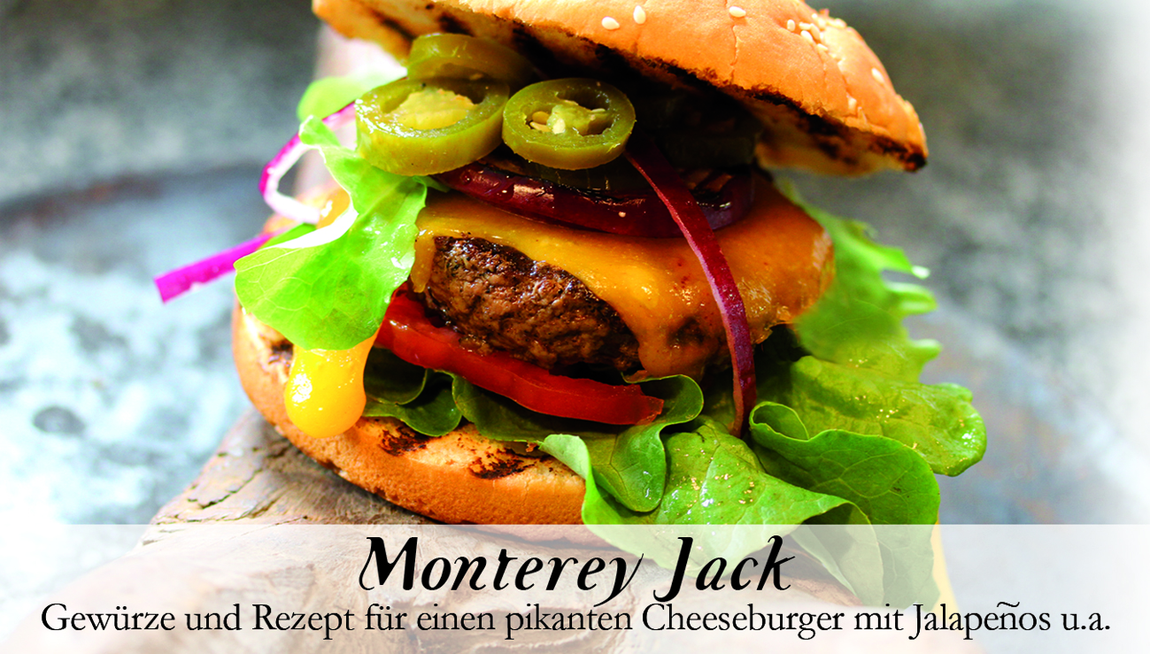 Monterey Jack-Gewürzkasten