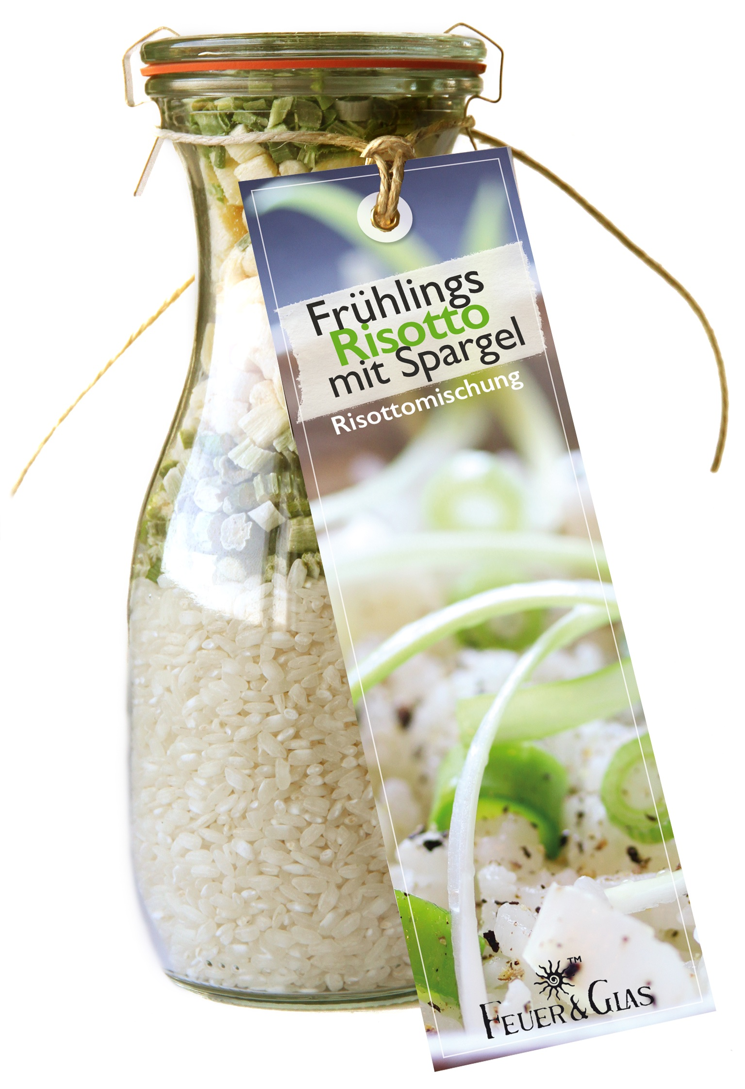 Frühlings Risotto mit Spargel    Mini ( 250 ml)