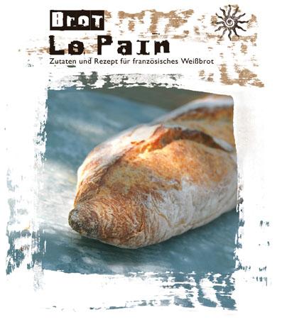 Le pain - Backmischung für französisches Weißbrot