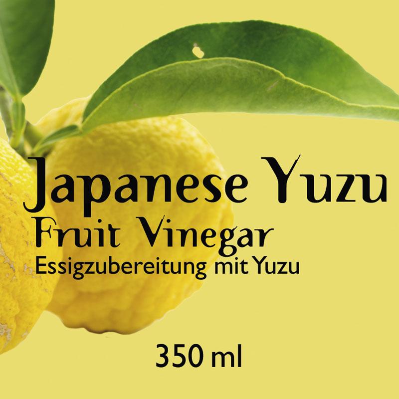 Japanese Yuzu Fruit Vinegar