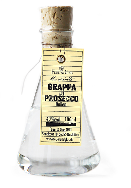 Grappa di Prosecco, 100 ml, 40%  VOL