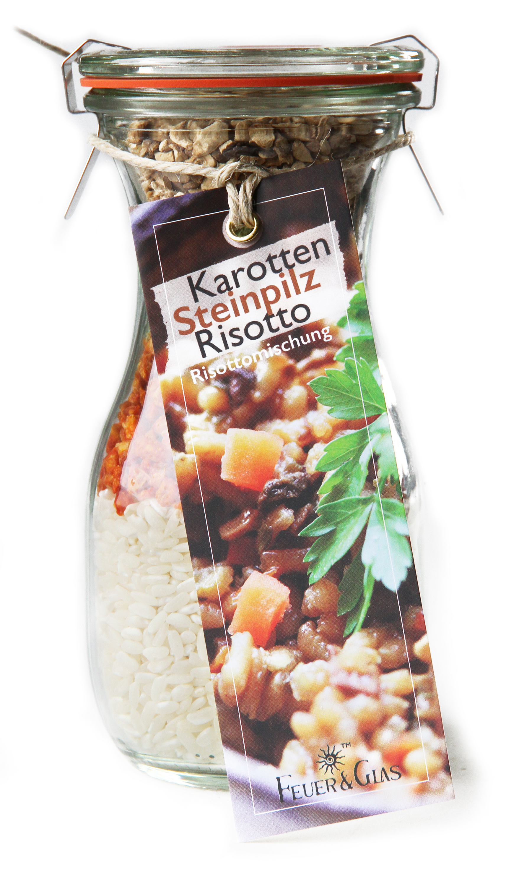 Karotten Steinpilz Risotto Mini ( 250 ml)
