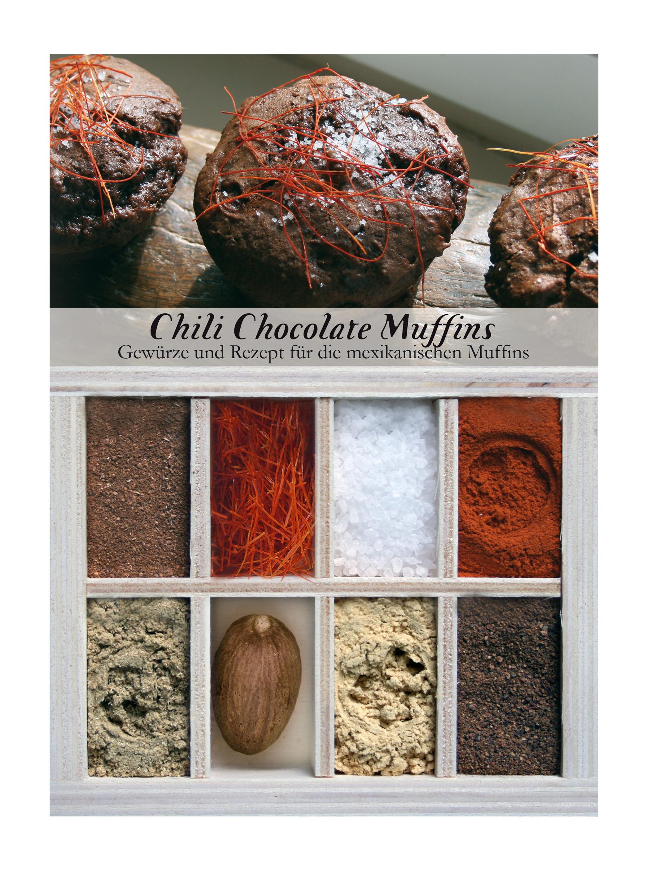 Chilli Chocolate Muffins