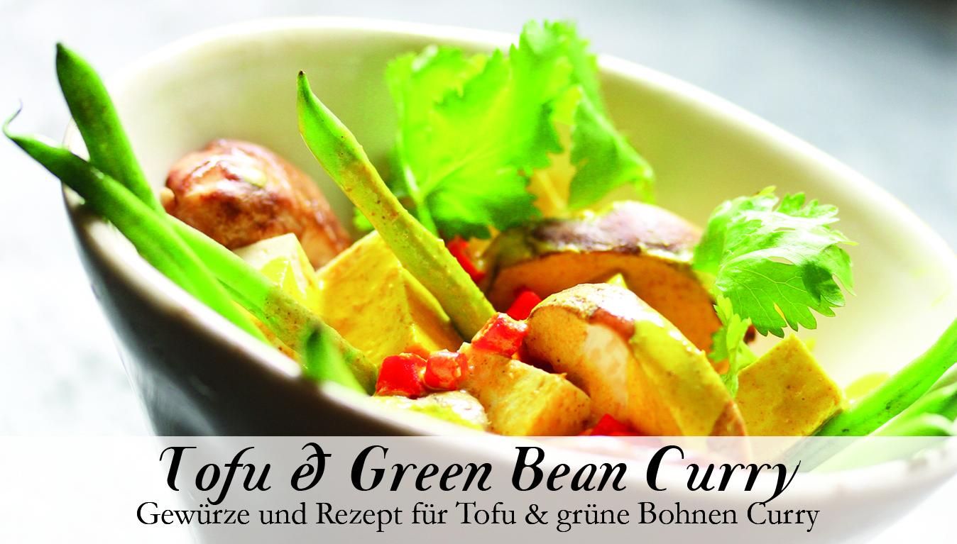 Tofu & Green Bean Curry Gewürzkasten