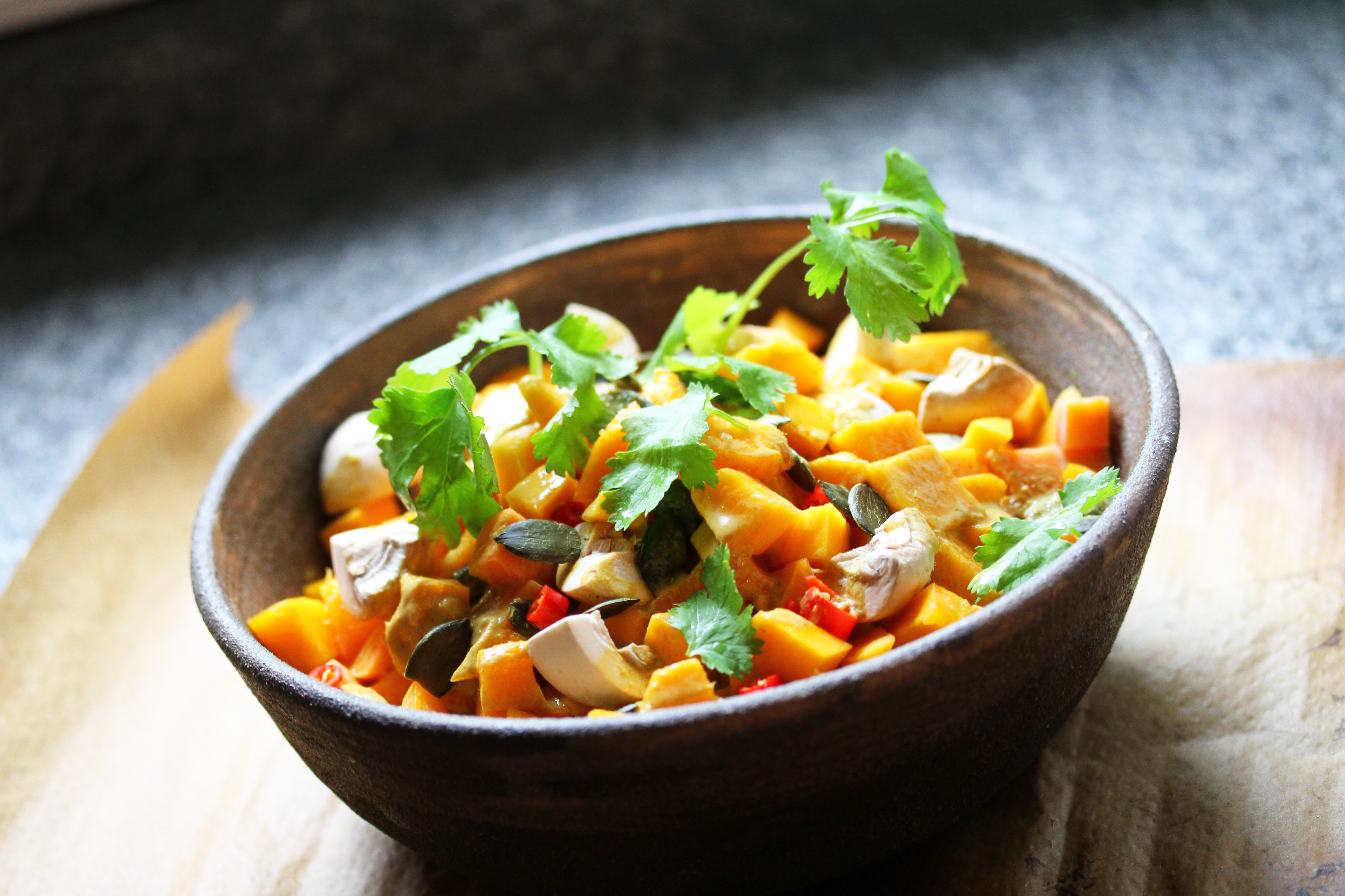 Pumpkin & Sweet Potato Curry Gewürzkasten
