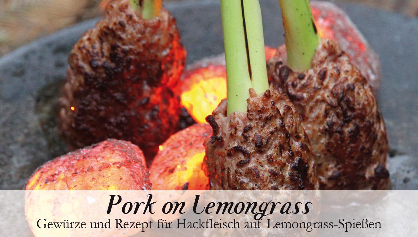 Pork on Lemongras-Gewürzkasten