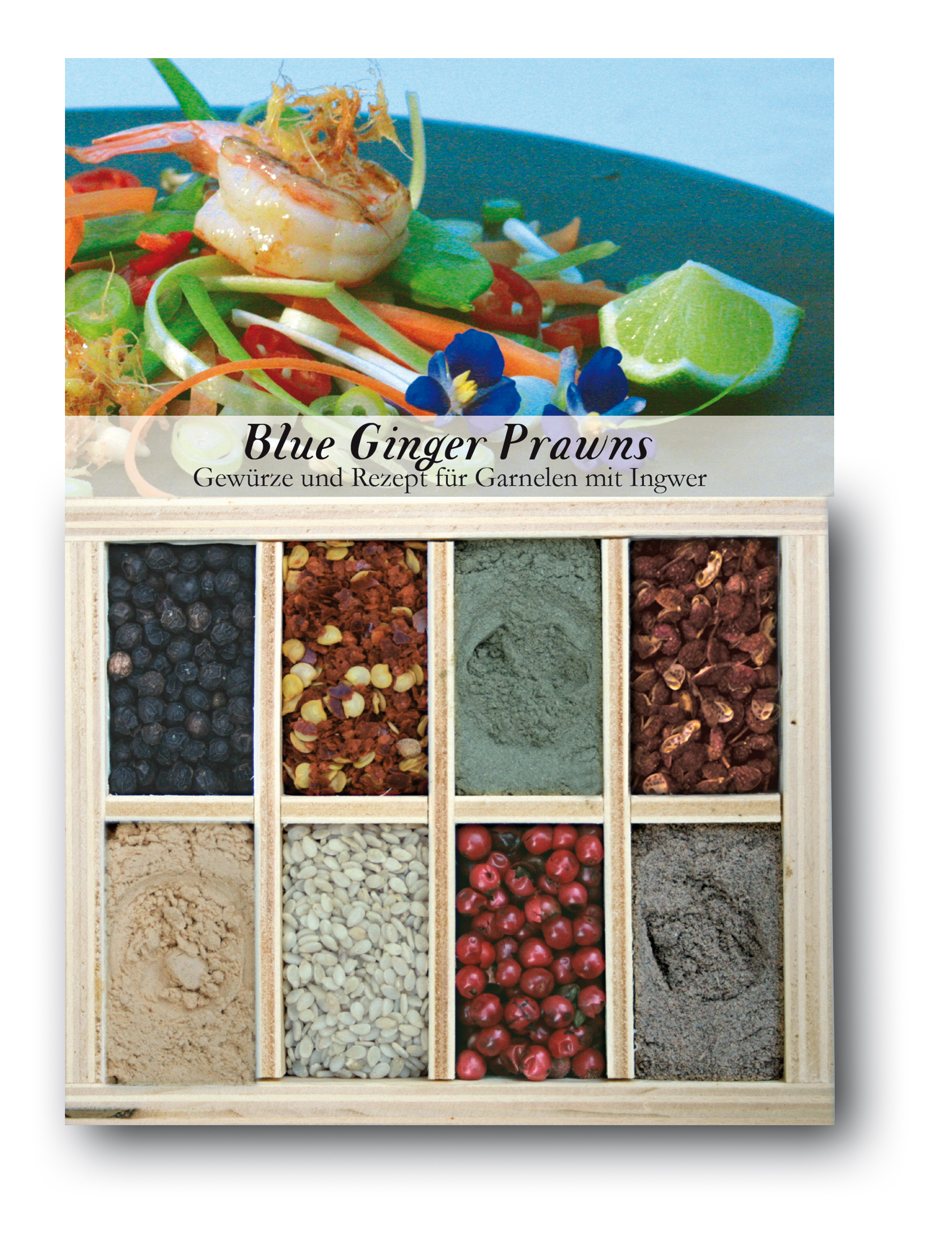 Blue Ginger Prawns
