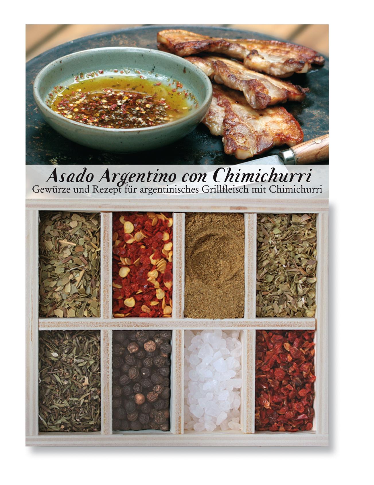 Asado Argentino con Chimichurri