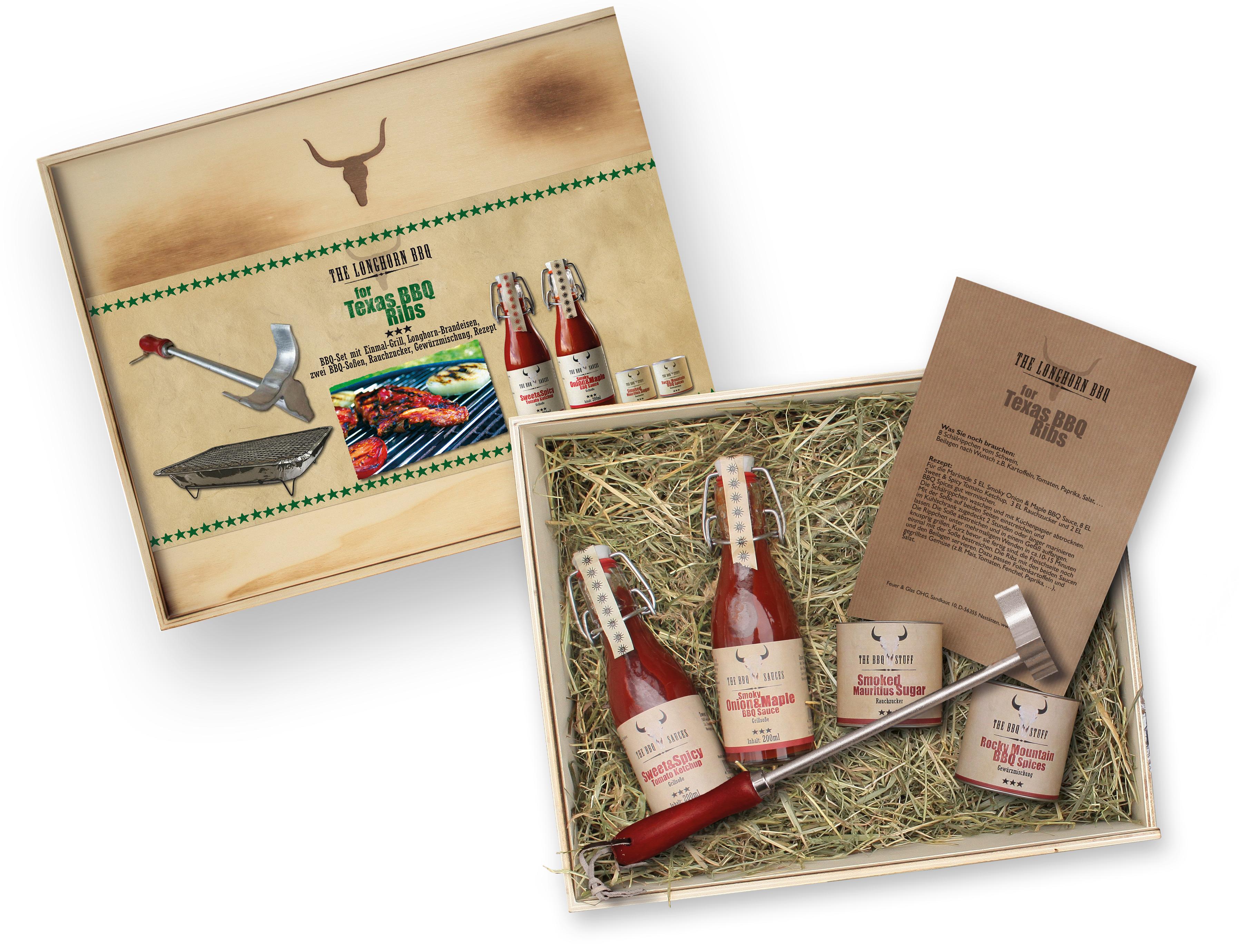 The Longhorn BBQ Kit - Texas BBQ Ribs