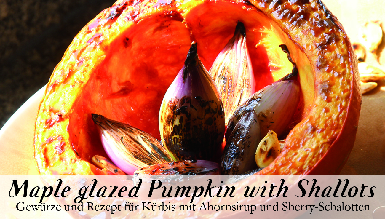 Maple glazed Pumpkin