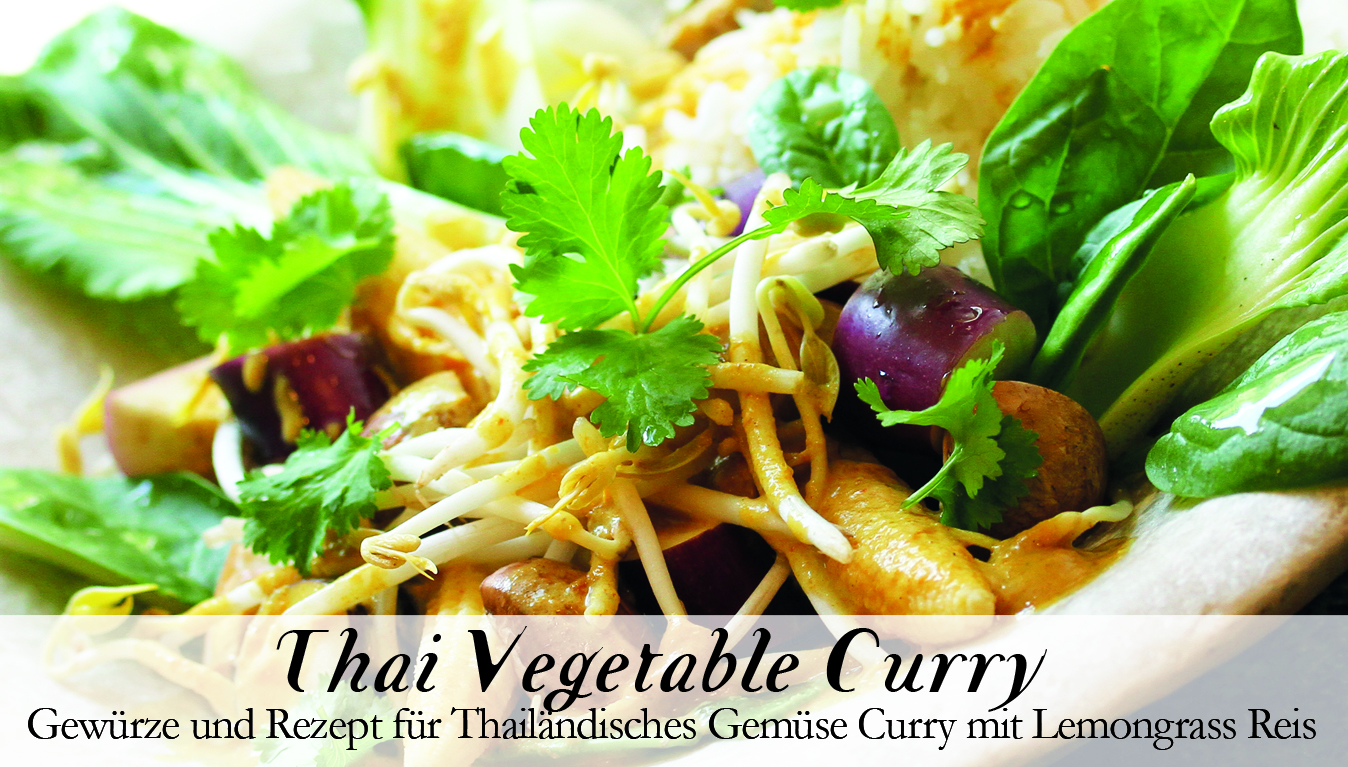 Thai Vegetable Curry Gewürzkasten