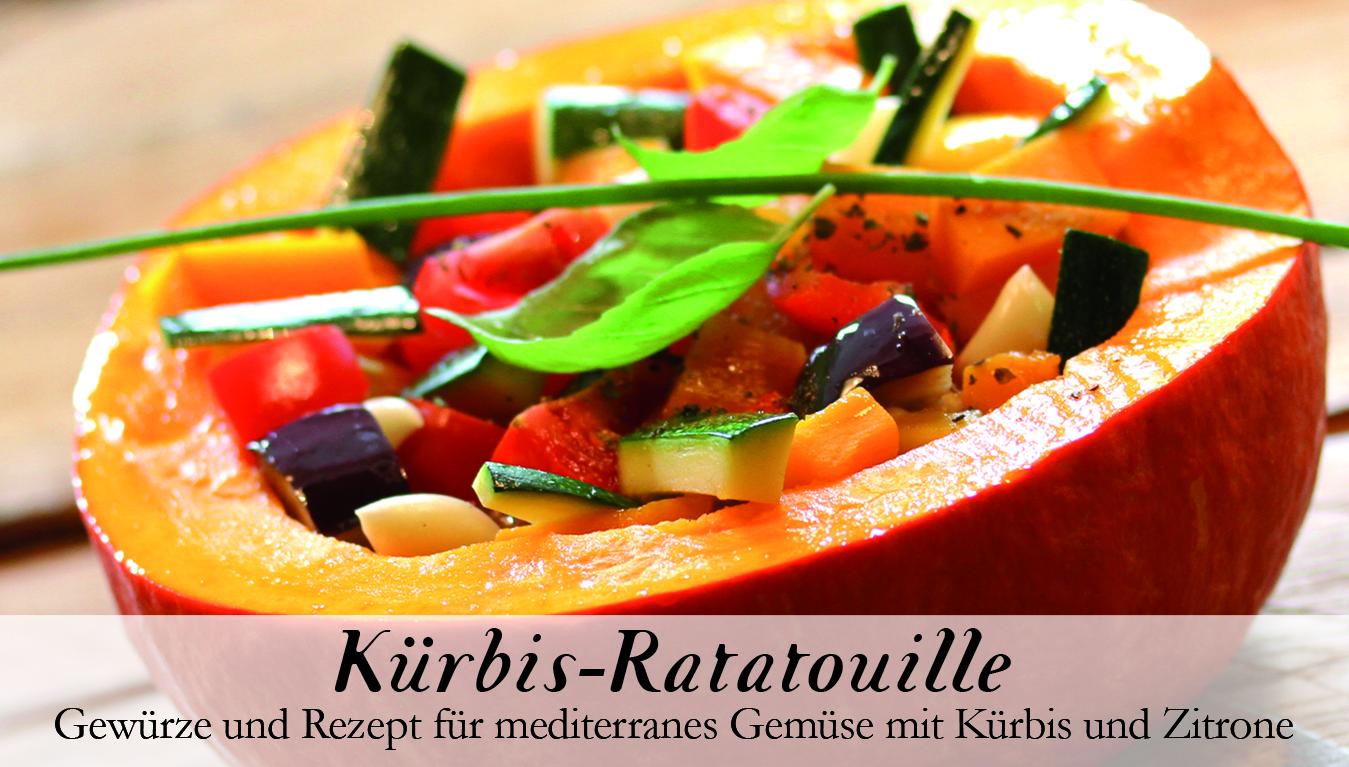 Kürbis - Ratatouille