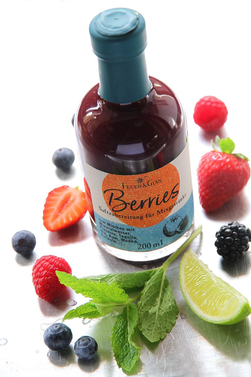Berries-der Sommerdrink