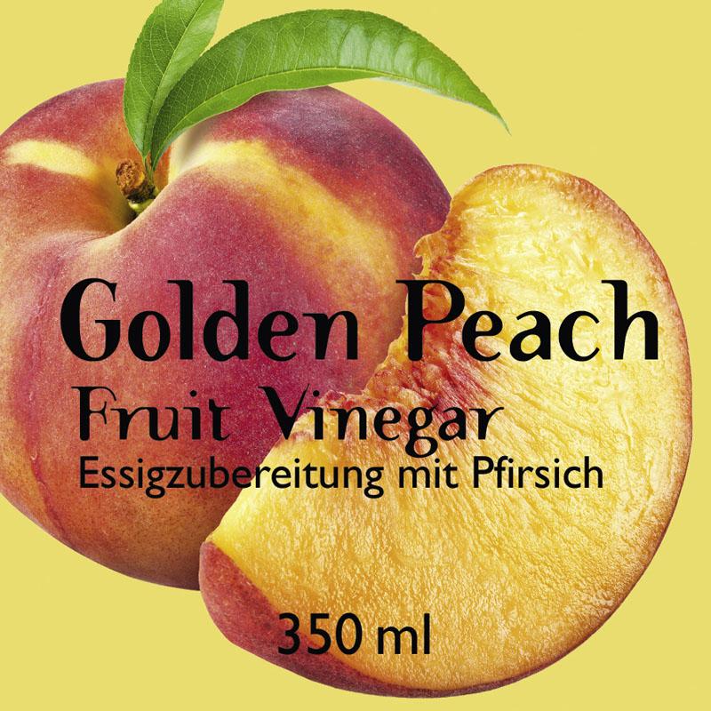 Golden Peach Fruit Vinegar