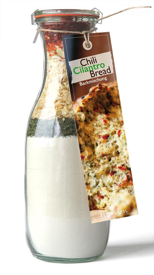 Chili- Cilantro- Bread