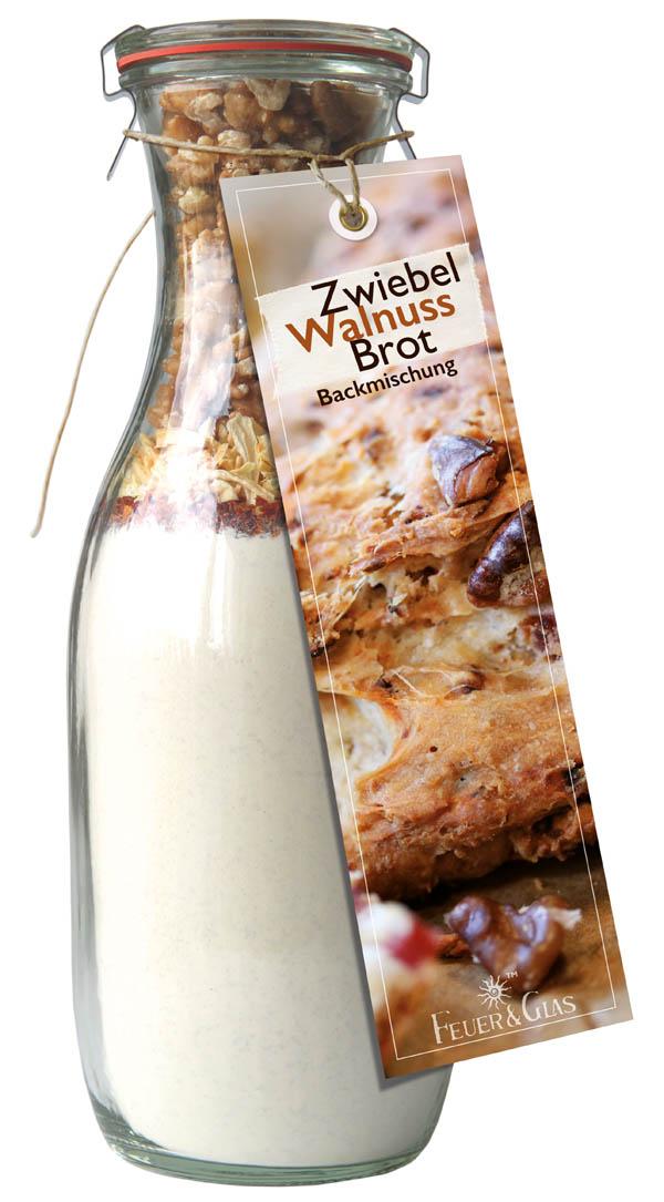 Zwiebel Walnuss Brot