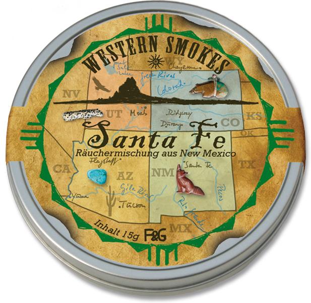 Santa Fe - Räuchermischung aus New Mexico